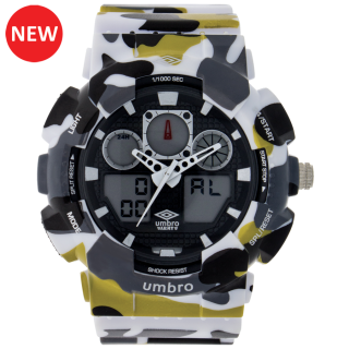 Umbro-039-3 Multicolor Camouflaged Rubber