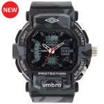 Umbro-040-1  Gray Camouflaged Rubber