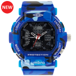 Umbro-040-2 Blue Camouflaged Rubber