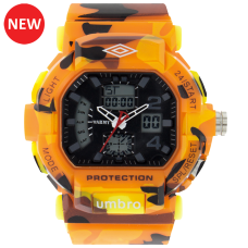Umbro-040-4 Orange Camouflaged Rubber