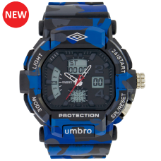 Umbro-050-1 Blue Camouflaged Rubber