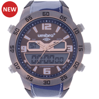 Umbro-047-3 Blue Camouflaged Rubber