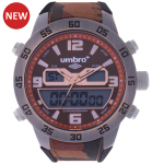 Umbro-047-6 Orange Camouflaged Rubber