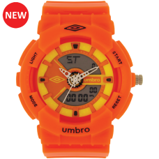 Umbro-056-4 Orange Rubber