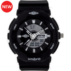 Umbro-056-6 Black Rubber