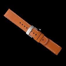 Elementum Ventus Brown leather strap
