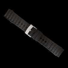 Elementum Terra - Black rubber strap