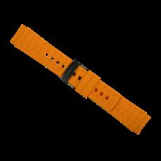 Elementum Terra Amber rubber strap